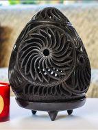 Barro Negro Lantern Flor Design