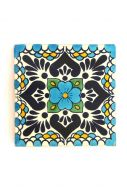 Talavera Tile Coaster Set of 2