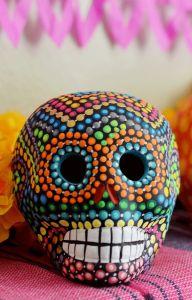 Día De Los Muertos Calavera Skull