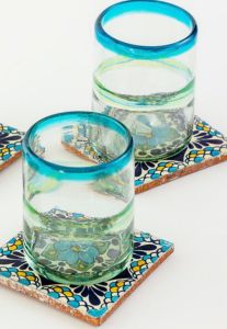 Talavera Tile Coaster Set of 4